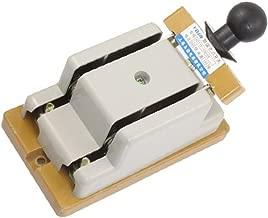 400V 100 Amp Double Pole Electric Brake Safety Knife Switch,Gray