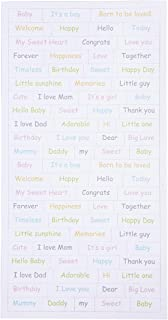 Stickers - Baby, sheet 12x23 cm, baby, 2sheets