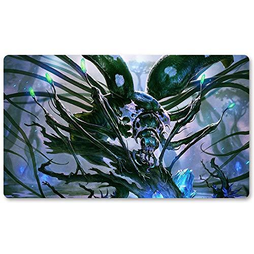 Kathril - Playmat, MTG Playmat,Magic Gathering Playmats, Board Games Anime playmat,Custom Table Pad, Free Waterproof Bag,Playmats for Yu-Gi-Oh Digimon MTG, Size 60350.2CM