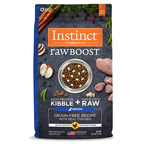 Instinct Raw Boost Senior Grain Free Recipe...