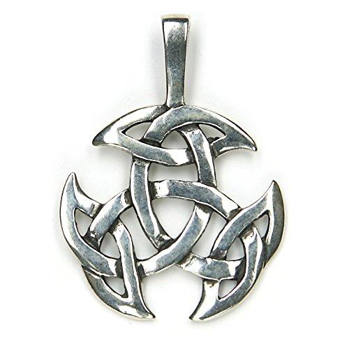 keltischer Schmuck Anhänger 925er Silber Keltenschmuck, Länge Kettenanhänger mit Öse: 3,6cm