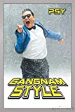 Close Up PSY Poster Gangnam Style (66x96,5 cm) gerahmt in: