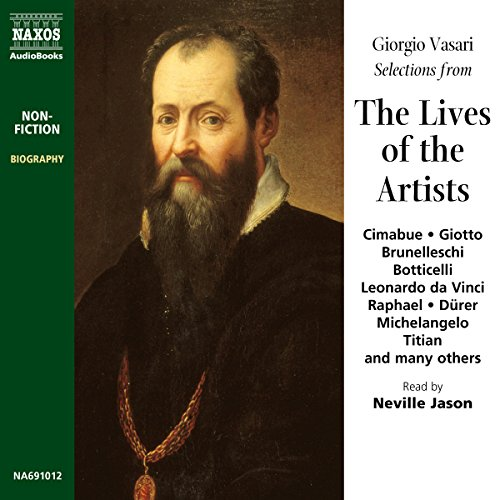 The Lives of the Artists audiobook cover art