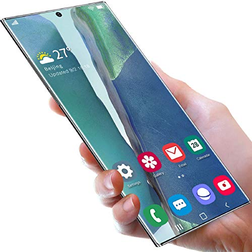 Lenove Smartphones sind billig, Note20U + Handy (12 GB + 512 GB), Android 10, 6,9 HD + Vollbild, Dual-SIM-Karte kann das Telefon entsperren, 4500 mAh Akku, Gesicht entsperren (Smart Electronic Pen)