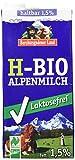 Berchtesgadener Land Bio Haltbare Bio-Alpenmilch LAKTOSEFREI, 1.5%, 12er Pack (12 x 1 l) -