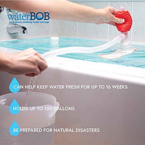 WaterBOB Bathtub Emergency Water Storage Container, Drinking Water Storage, Hurricane Survival, BPA-Free (100 Gallon) (1) Arkansas