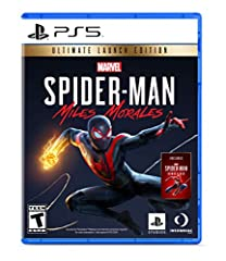 Miles Morales discovers explosive powers that set him apart from his mentor, Peter Parker. Master his unique, bio-electric venom blast attacks and covert camouflage power alongside spectacular web-slinging acrobatics, gadgets and skills. A war for co...