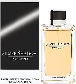 Silver Shadow By Davidoff For Men. Eau De Toilette Spray 3.4 OZ