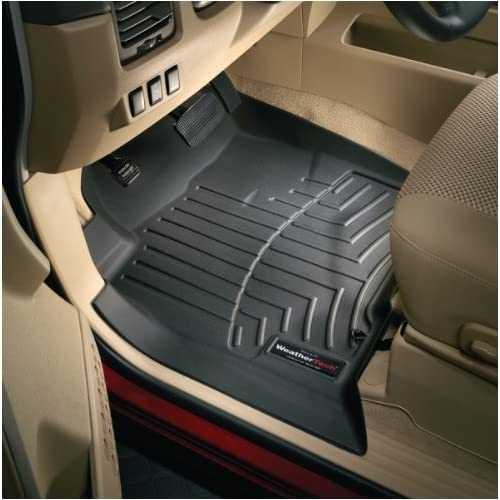 WeatherTech Custom Fit Front FloorLiner for Chevrolet Colorado/GMC Canyon (Black)