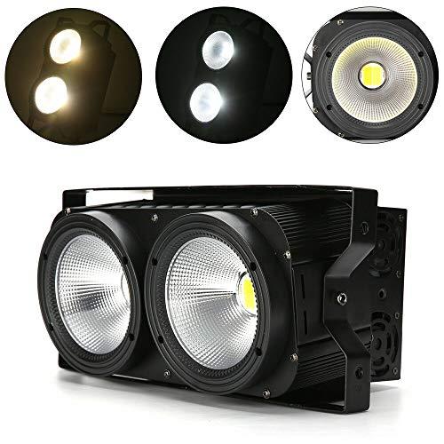 Audience Blinder COB DMX LED Bühnenbeleuchtung 2 In 1 Bühnenlicht Weiß/Warmweiß 200W/400W