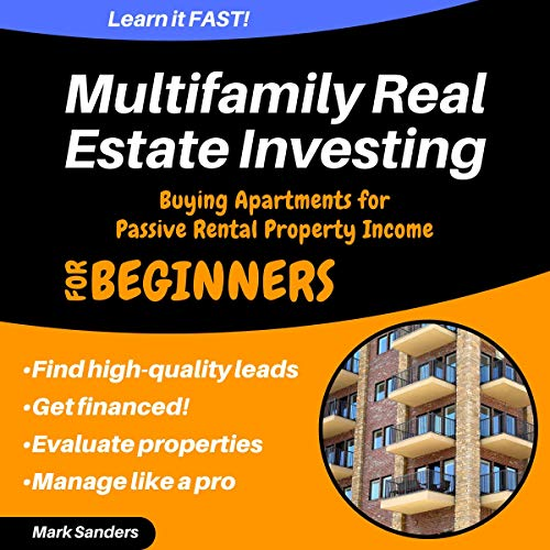 『Multifamily Real Estate Investing: Buying Apartments for Passive Rental Property Income』のカバーアート