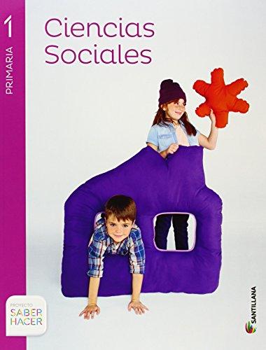 CIENCIAS SOCIALES 1 PRIMARIA SABER HACER - 9788468011813