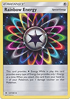 Rainbow Energy - 137/149 - Uncommon - Pokemon Sun & Moon