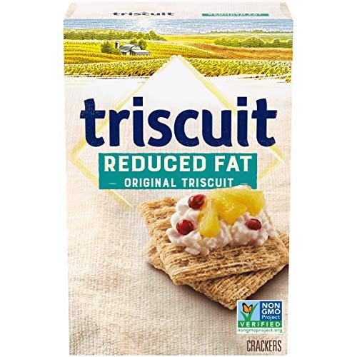 Triscuit Whole Grain Wheat Crackers, Reduced Fat, 7.5 Ounce -  Mondelez International, 00044000051389