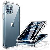 Miracase 360 Grad Hülle Kompatibel mit iPhone 12/12 Pro (6.1 Zoll), Ganzkörper Schutzhülle mit...