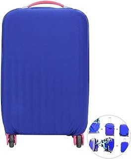 Blu, 18-20 Pollici Copertura Valigia Bagagli Custodia Protettiva Elastica Tinta Unita Cover Suitcase