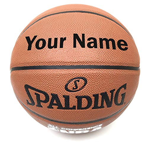 Buy Discount Customized Personalized Spalding All Conference Indoor Outdoor Basketball (27.5)