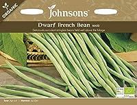 【輸入種子】 Johnsons Seeds ORGANIC Dwarf French Bean MAXI オーガニック ドワーフ・フレンチ・ビーン マキシ ジョンソンズシード