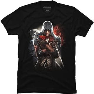 We Will Unite Men's Black Graphic T Shirt-Design By Humans