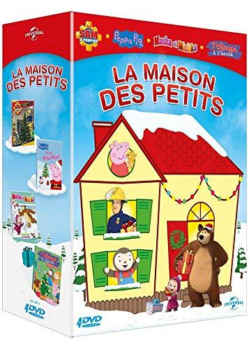 La Maison des Petits-Coffret: Sam Le Pompier-Volume 6 : Les préparatifs Pig-Peppa fête Masha et Michka-7-Tous sur la Glace + T'choupi à l'école-L'étoile de Noël