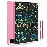 Tableta de Escritura LCD 11.5 Pulgadas, Pizarra Digital con Pantalla Completa Grande, Tablero de Dibujo Portátil para Niños y Adultos, Juguete Infantíl para Niños de 3 4 5 6 7 Años (Rosa)