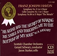 Haydn: Symphonies Nos. 21 & 96/Cello Concerto In C by et al Janos Starker (Performer) (2013-05-03)