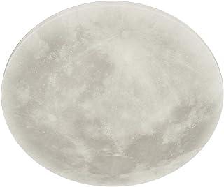 Trio Leuchten LED Deckenleuchte Lunar 627514000, Acryl mit Mondmotiv, Mondphase wechselbar, 1 x 22 Watt LED, Helligkeit ei...