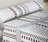 Regalitos TV Topitos Cady - Juego de cama de verano con dibujos, todas las camas con largo de 200cm, microfibra, sábana bajera, 1 funda de almohada y parte superior, microfibra, beige, 90 x 200 cm