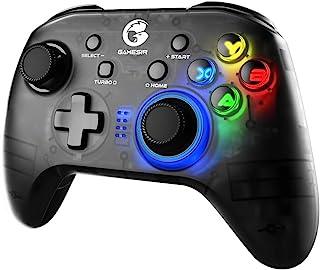GameSir T4proコントローラー Switch コントローラー Switch/iOS/Android/PC対応 Bluetooth · 2.4GHz · USB接続可能 6軸ジャイロセンサー 二重振動 バックライト機能 (ホルダー付き)