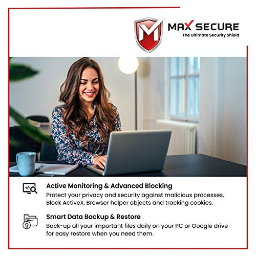 Max Secure Anti-Virus Plus Latest Version with Ransomware Protection ( Windows ) - 1PC, 3 Years (Email Delivery in 2 Hrs - No CD ) 4