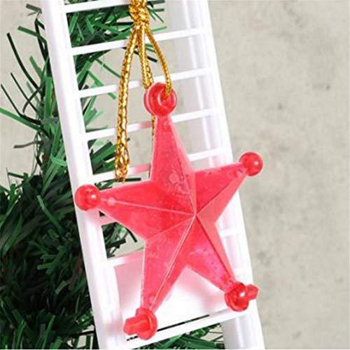 DankeSh Claus Climbing Ladder Electric Santa Climbing Rope Ladder Decoration,Xmas Party Home Door Wall Decoration