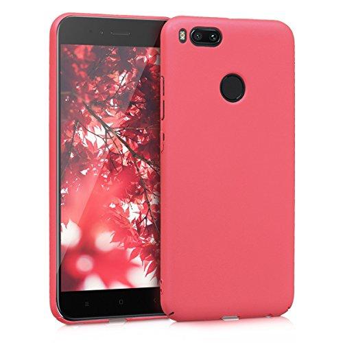 kwmobile Hülle kompatibel mit Xiaomi Mi 5X / Mi A1 - Handy Case Handyhülle - Backcover Hardcover Cover Schutzhülle Fuchsia matt