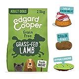 Edgard & Cooper Cibo Secco per Cani Adulti Crocchette con Carne Fresca di Agnello Senza Cereali 2.5kg in Confezione Biodegradabile, Alimentazione Naturale per Cani di Ogni Taglia