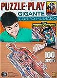 Grow 03636 Puzzle Play Gigante Corpo Humano, 100 peças