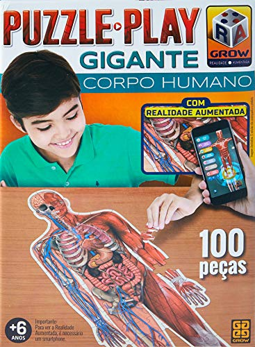 Puzzle Play Gigante Humano Multicor