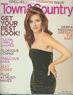 Town & Country Magazine (September, 2008) Debra Messing COver