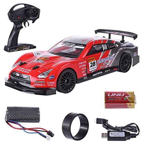 YOU339 Coche teledirigido 1:14 2.4G 4WD de alta velocidad RC Drift Car Toy, Multiplayer Drift Car Car Car Car para niños
