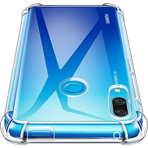 AROYI Huawei P Smart Z Funda, Ultra Fina Silicona TransparenteTPU Carcasa Protector Airbag Anti-Choque Anti-arañazos Case Cover para Huawei P Smart Z
