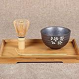 PopHMN 3 in 1 kit di strumenti tradizionali Matcha, strumenti per cerimonia del tè, cioto...