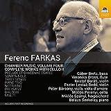 Farkas: Chamber Music Vol.4 [Miklós Perényi; Gabor Bretz; Veronika Oross; Kristóf Baráti] [Toccata Classics: TOCC 0386]