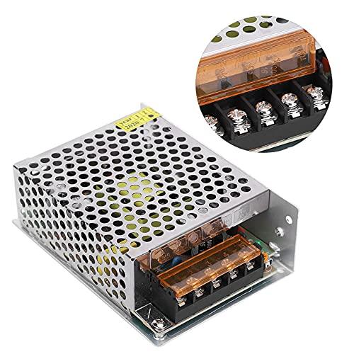 LDDLDG Switch Power Supply Driver Adapter DC12V Aluminum AlloyLED Light Bar Driver Medium Low Voltage Equipment 3D PrinterS‑60‑12(L)(12V/5A/60W) AC100‑240V