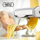 PAGILO Nudelmaschine (7 Stufen) für Spaghetti, Pasta und Lasagne   2 Jahre Zufriedenheitsgarantie   Pastamaschine, Pastamaker - 6