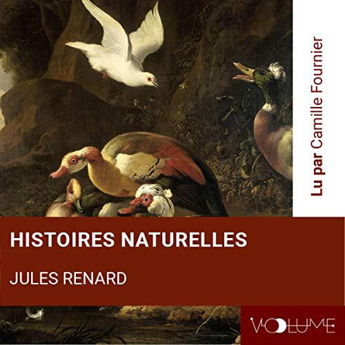Histoires naturelles audiobook cover art