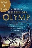 Helden des Olymp: Band 1-5 der spannenden Abenteuer-Serie in einer E-Box!: Die komplette Bestsellerserie aus dem Kosmos von Percy Jackson