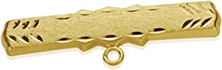 30mm 18K Gold Pin. Baby Carved Recording Included [Aa7245Gr] - Customizable - Recording Included In Price