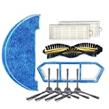 Haushaltsreinigungswerkzeuge Zys 2 Paar K614 Seitenbürsten + 2 PCS I261 Rags + 2 PCS I207 Filter +...