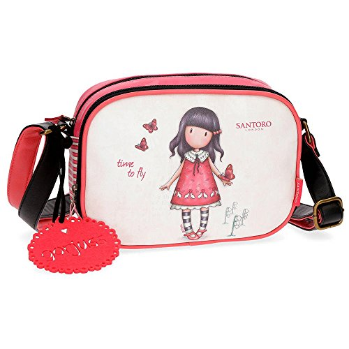 Gorjuss Time To Fly Bolso Bandolera, 23 cm, 3.13 litros, Multicolor