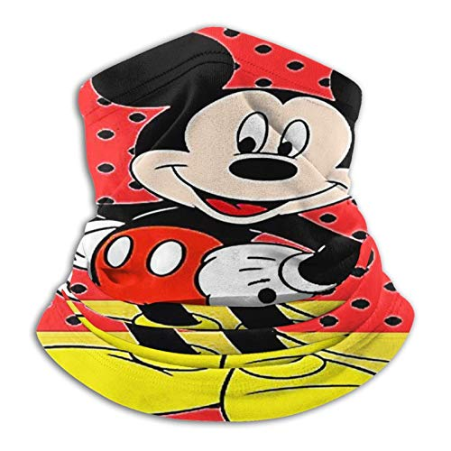 Nicegift Mickey Mouse Pasamontañas calentador de cuello
