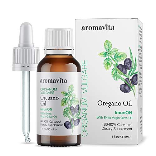 ImunON Greek Oregano Oil - Oregano Essential Oil Containing Over 86-90%...