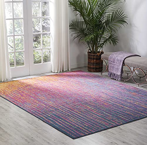 Nourison Passion Modern Abstract Colorful Multicolor Area Rug, 8' x 10'